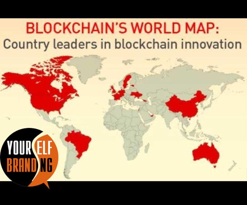 Страны где внедряется блокчейн