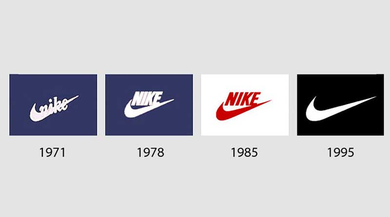 История логотипа Nike