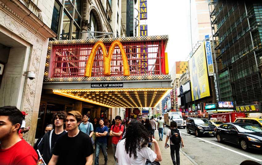 МакДональдс самая успешная франшиза