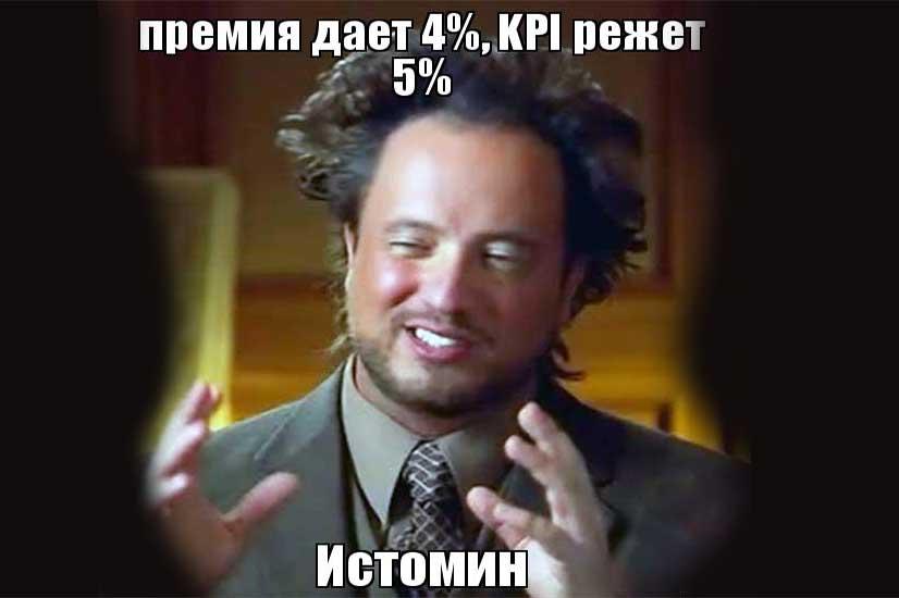 Влияние KPI на заработную плату