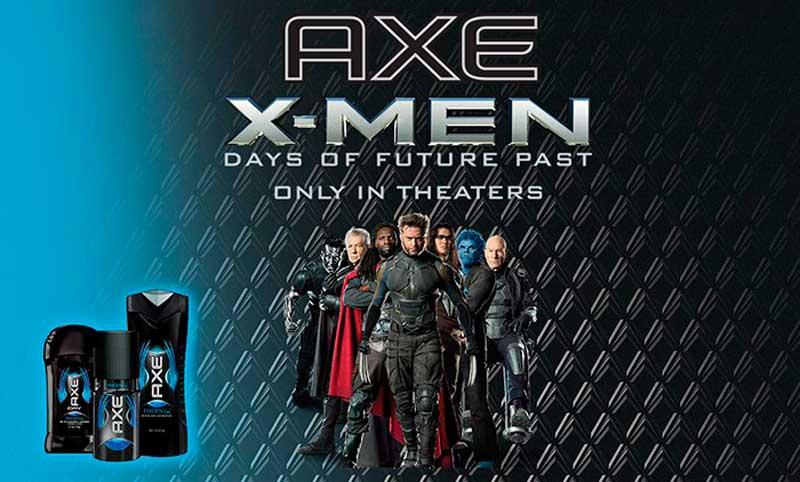 Продакт плейсмент на постере фильма Люди Икс