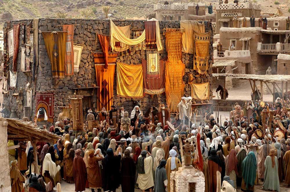 Мухаммад один из первых селебрити